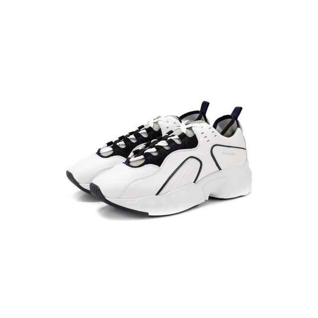 Кожаные кроссовки Rockaway Acne Studios — Кожаные кроссовки Rockaway