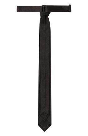 Детский шелковый галстук DOLCE & GABBANA черного цвета, арт. LB4A30/G0U05 | Фото 2