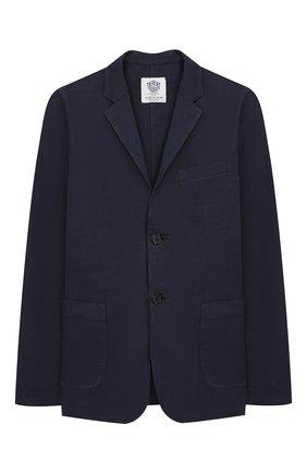 Пиджак из хлопка и льна | Фото №1
