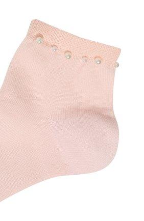 Детские хлопковые носки LA PERLA розового цвета, арт. 42045/3-6 | Фото 2