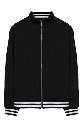 Хлопковая куртка на молнии | Фото №1