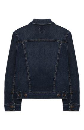 Детская джинсовая куртка POLO RALPH LAUREN синего цвета, арт. 313698662 | Фото 2