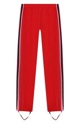 Хлопковые брюки со штрипками | Фото №1