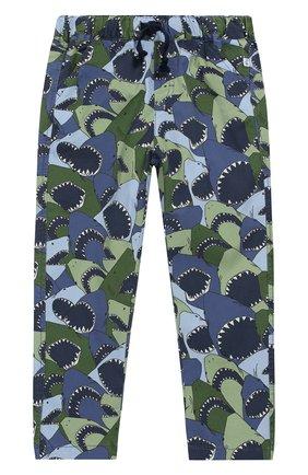 Хлопковые брюки на кулиске   Фото №1