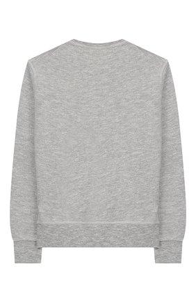 Детский хлопковый свитшот DSQUARED2 серого цвета, арт. DQ02N3-D00MU | Фото 2