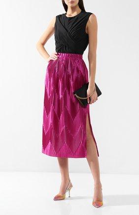 Женская текстильные туфли lori DOLCE & GABBANA разноцветного цвета, арт. CG0308/AK098 | Фото 2