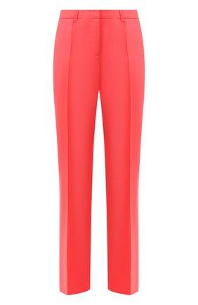 Шерстяные брюки Dorothee Schumacher коралловые | Фото №1