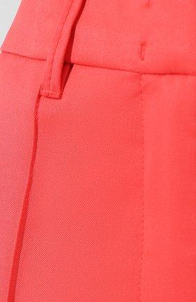 Шерстяные брюки Dorothee Schumacher коралловые | Фото №5