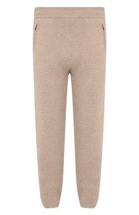 Мужской брюки из кашемира BOTTEGA VENETA бежевого цвета, арт. 541565/VEX90   Фото 1