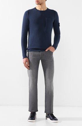 Мужские джинсы прямого кроя JACOB COHEN серого цвета, арт. J620 C0MF 07729-W1   Фото 2