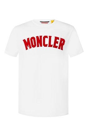Хлопковая футболка Moncler 1952 | Фото №1