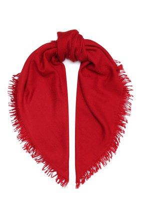 Детский платок из шерсти и шелка GUCCI красного цвета, арт. 418221/4K646 | Фото 1