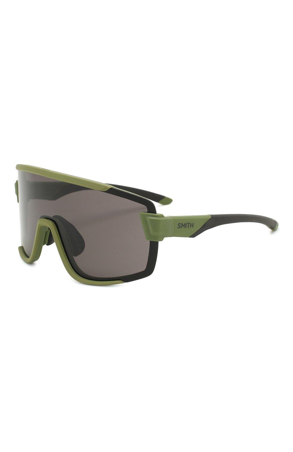Женские солнцезащитные очки SMITH зеленого цвета, арт. WILDCAT SIF | Фото 1