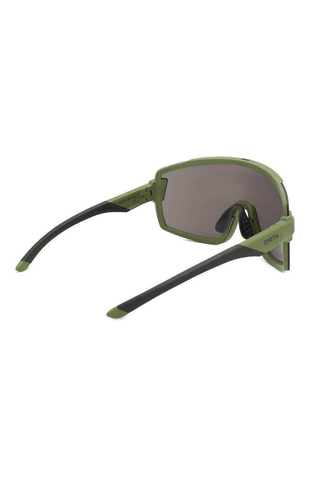 Женские солнцезащитные очки SMITH зеленого цвета, арт. WILDCAT SIF | Фото 4