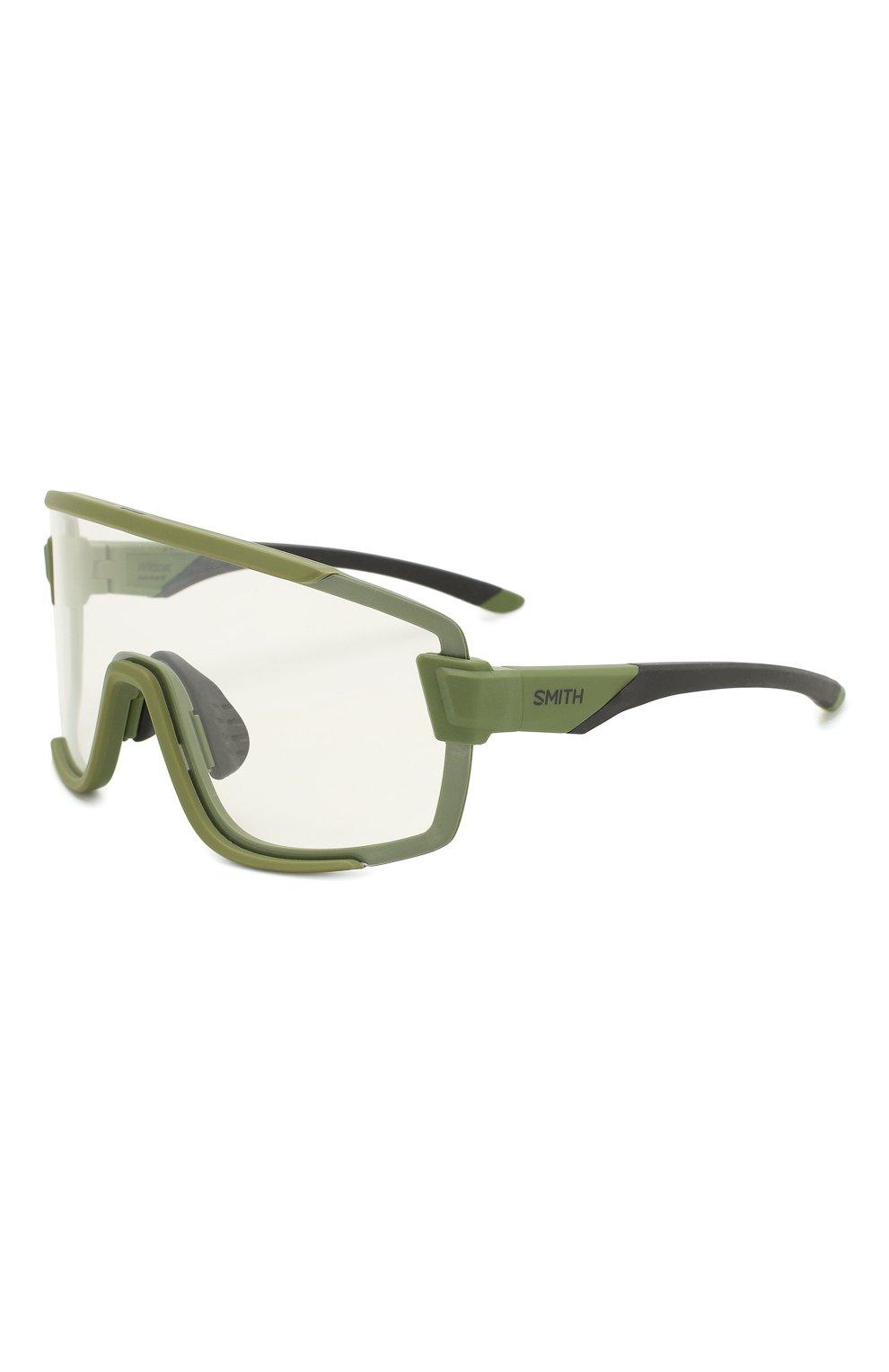 Женские солнцезащитные очки SMITH зеленого цвета, арт. WILDCAT SIF | Фото 5