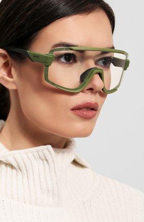 Женские солнцезащитные очки SMITH зеленого цвета, арт. WILDCAT SIF | Фото 6