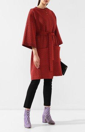 Текстильные ботильоны | Фото №2