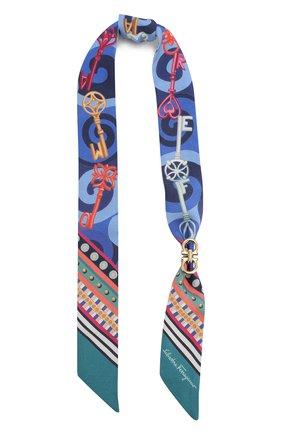 Шелковый шарф бандо | Фото №1