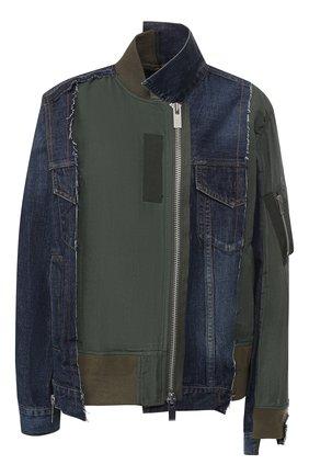 Куртка с косой молнией | Фото №1