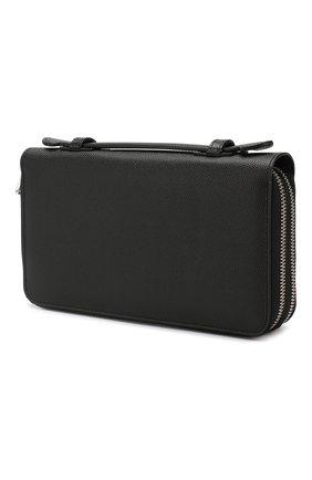 Мужская кожаный футляр для документов business travel DOLCE & GABBANA черного цвета, арт. BP2220/AZ601 | Фото 2
