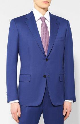 Мужской шерстяной костюм BRIONI синего цвета, арт. RAI30U/P4AHX/PARLAMENT0 | Фото 2