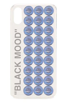 Мужской чехол для iphone xr MISHRABOO прозрачного цвета, арт. Caviar Xr | Фото 1