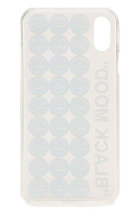 Мужской чехол для iphone xr MISHRABOO прозрачного цвета, арт. Caviar Xr | Фото 2