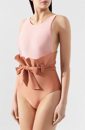 Женский слитный купальник ADRIANA DEGREAS светло-розового цвета, арт. V19MAAL0073   Фото 2