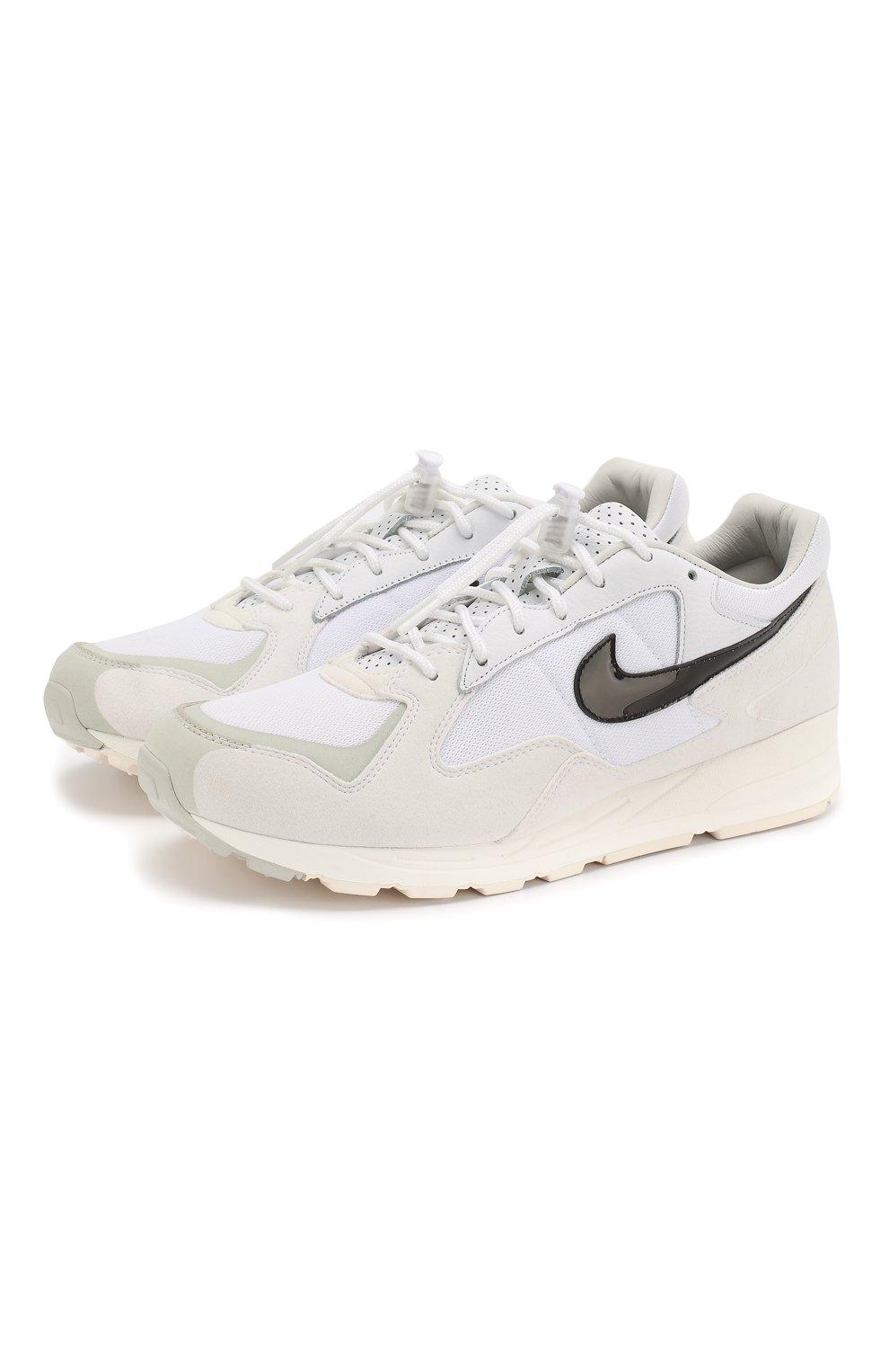 57e4bb7b Комбинированные кроссовки Nike x Fear of God Air Skylon II NikeLab белые |  Фото №1