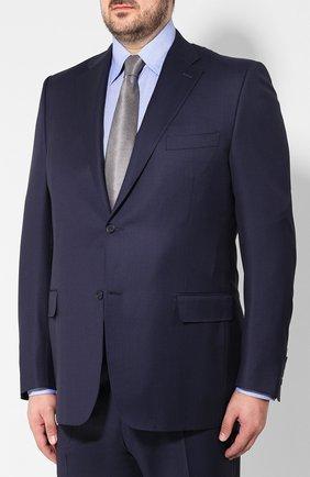 Мужской шерстяной костюм  CANALI темно-синего цвета, арт. 11220/10/BF00267/60-64   Фото 2