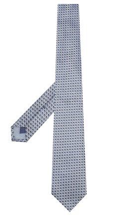 Мужской шелковый галстук CORNELIANI синего цвета, арт. 83U390-9120324/00   Фото 2
