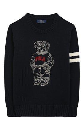 Хлопковый пуловер   Фото №1