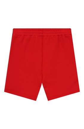 Детские хлопковые шорты GUCCI красного цвета, арт. 497808/X9L54 | Фото 2