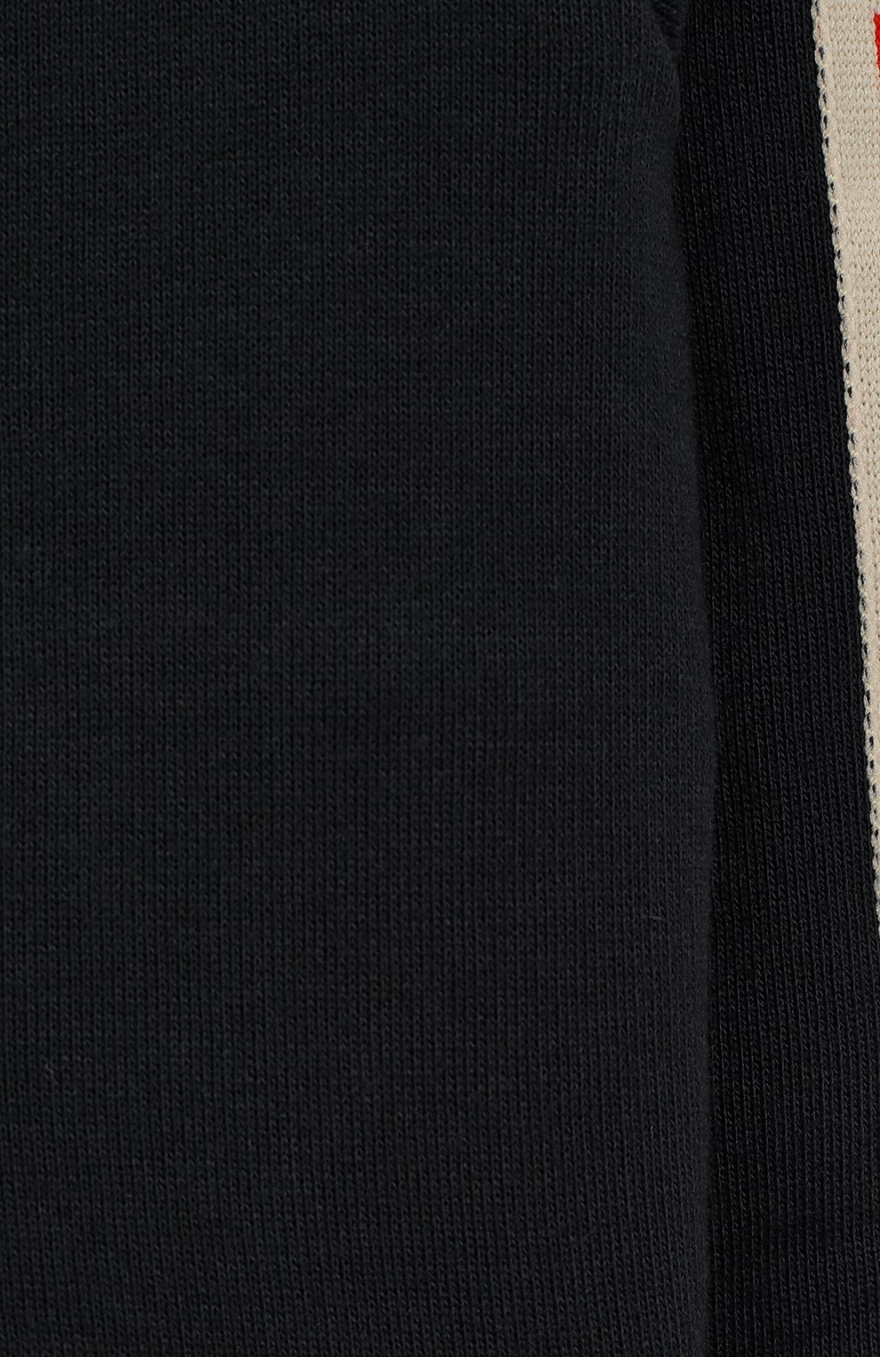 Детский хлопковая толстовка с капюшоном GUCCI синего цвета, арт. 533045/X9L52 | Фото 3