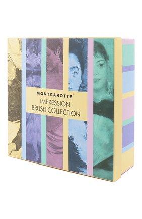 Подарочный набор зубных кистей impression brush collection MONTCAROTTE бесцветного цвета, арт. МС200 | Фото 2