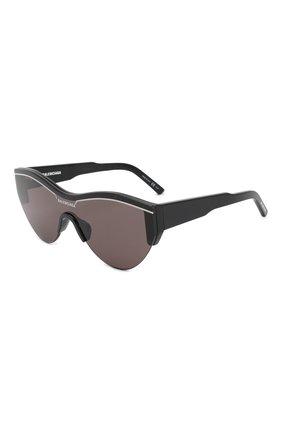 Женские солнцезащитные очки BALENCIAGA черного цвета, арт. BB0004 001 | Фото 1