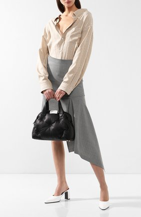 Женская сумка glam slam 5ac  MAISON MARGIELA черного цвета, арт. S56WD0067/PR818 | Фото 2