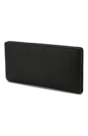 Женские кожаный кошелек babylon FURLA черного цвета, арт. PZ27 | Фото 2
