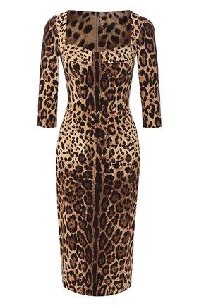 Платье с принтом   Фото №1