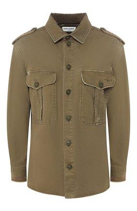 Куртка из смеси хлопка и рами | Фото №1