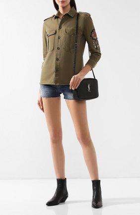 Куртка из смеси хлопка и рами | Фото №2
