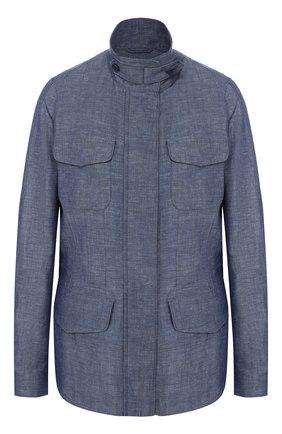 Куртка из смеси льна и хлопка | Фото №1