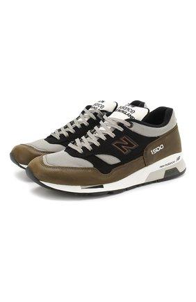 Комбинированные кроссовки 1500 Made in UK | Фото №1