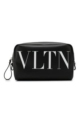 Кожаный несессер Valentino Garavani VLTN | Фото №1