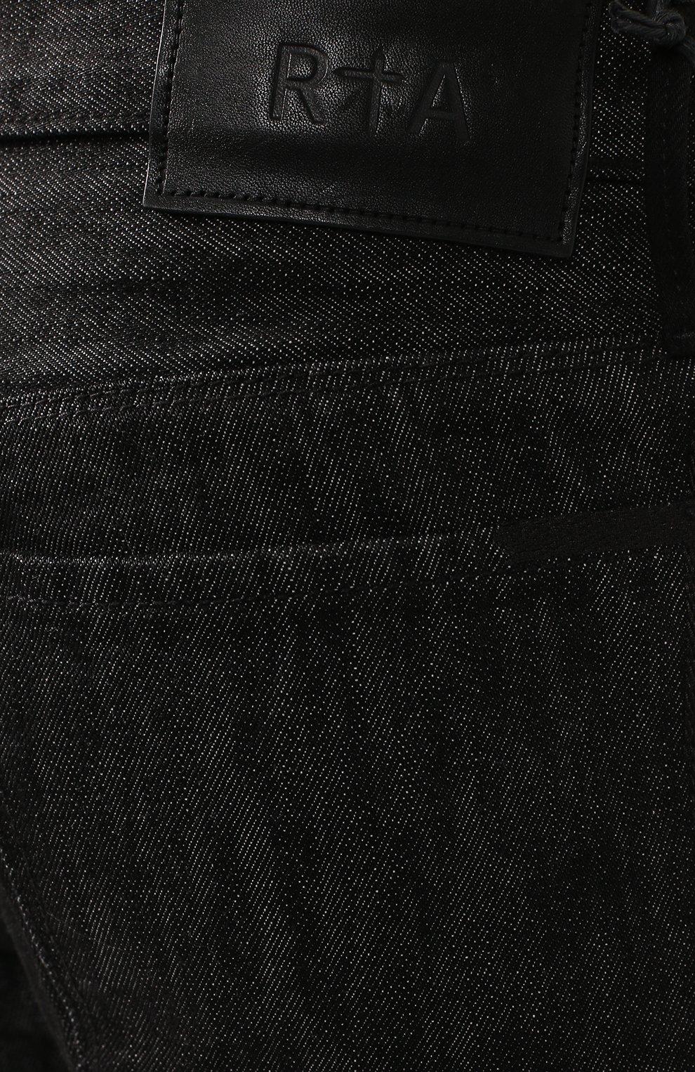 Джинсы RTA черные | Фото №5