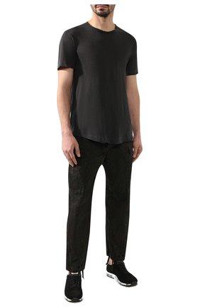 Мужская хлопковая футболка JAMES PERSE серого цвета, арт. MKJ3360 | Фото 2