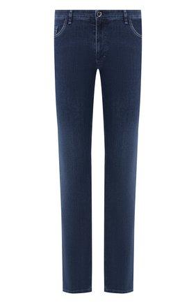 Мужские джинсы прямого кроя ZILLI синего цвета, арт. MCR-00035-EUDE1/S001 | Фото 1