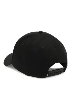 Хлопковая бейсболка Diesel черного цвета   Фото №2