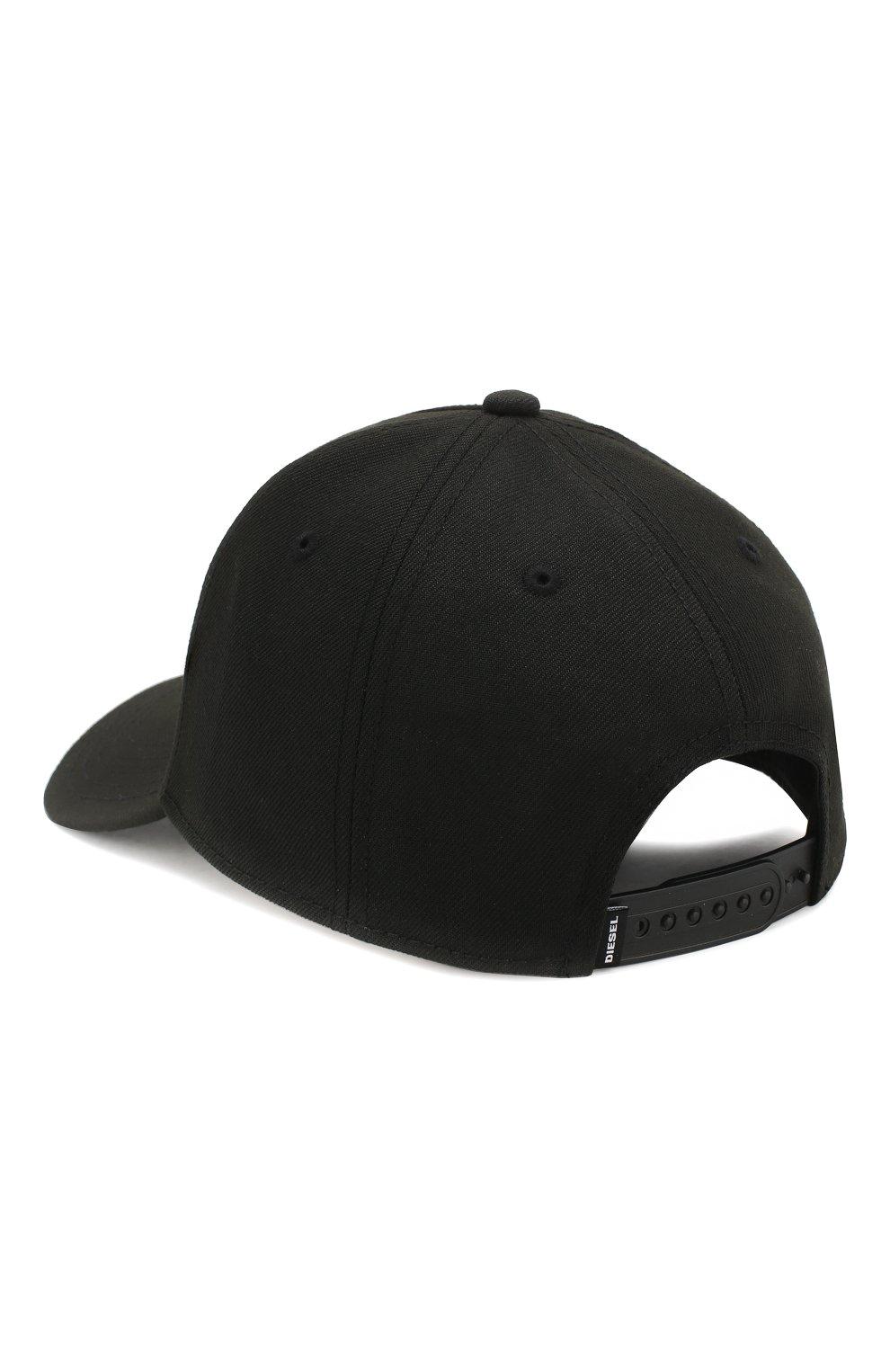 Мужской бейсболка DIESEL черного цвета, арт. 00SR3V/0LA0I | Фото 2