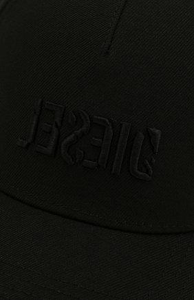 Мужской бейсболка DIESEL черного цвета, арт. 00SR3V/0LA0I | Фото 3